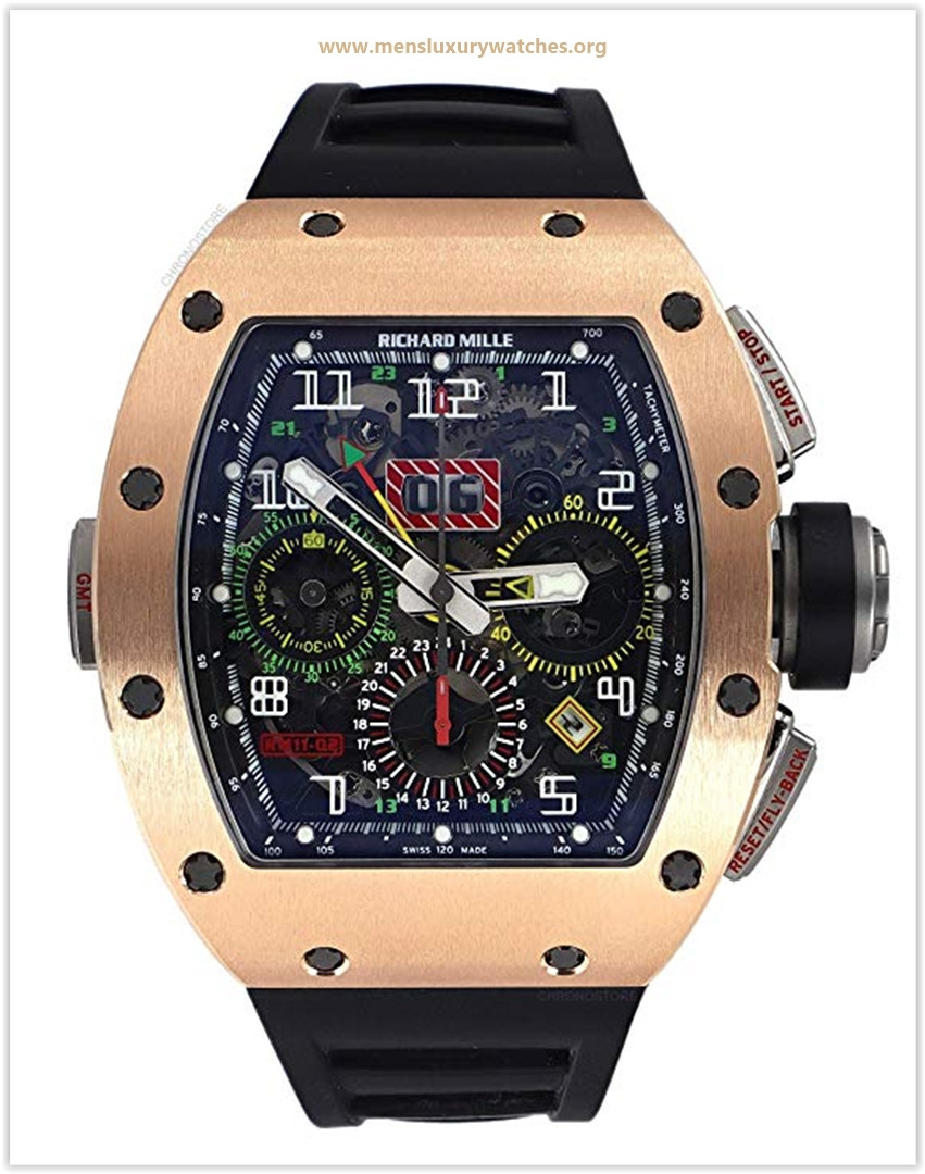 Richard Mille RM 011 Automatic-self-Wind Male Watch RM011-02 price may 2019