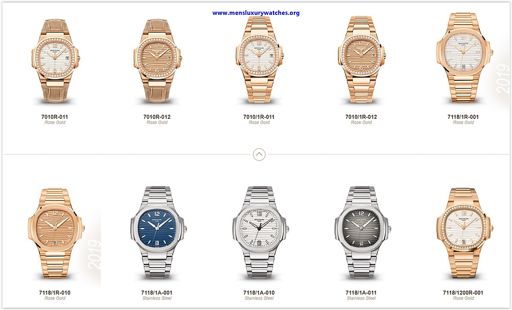 Top 10 Most Popular Watches in the Patek Philippe Nautilus Series