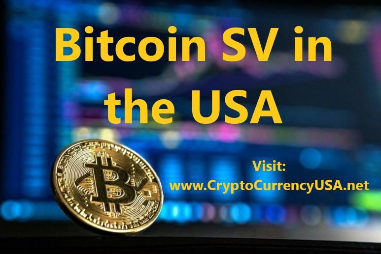 Bitcoin SV in the USA