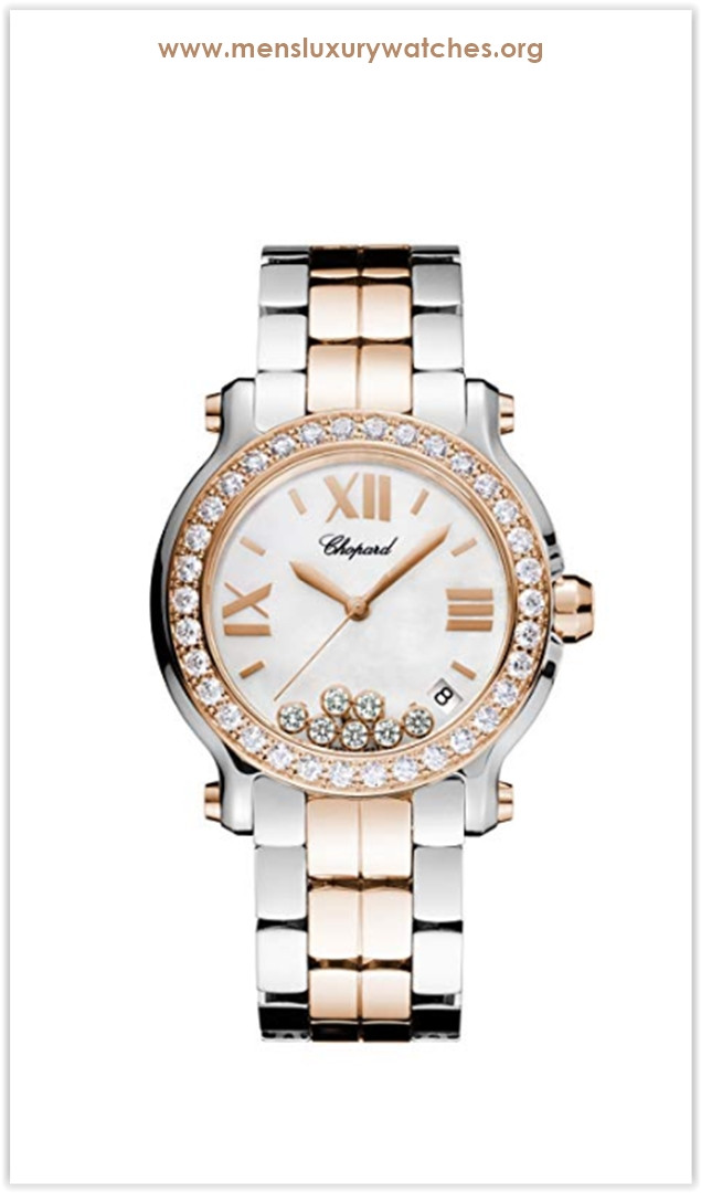 Chopard Happy Sport II Ladies Two-Tone Diamond Watch Price