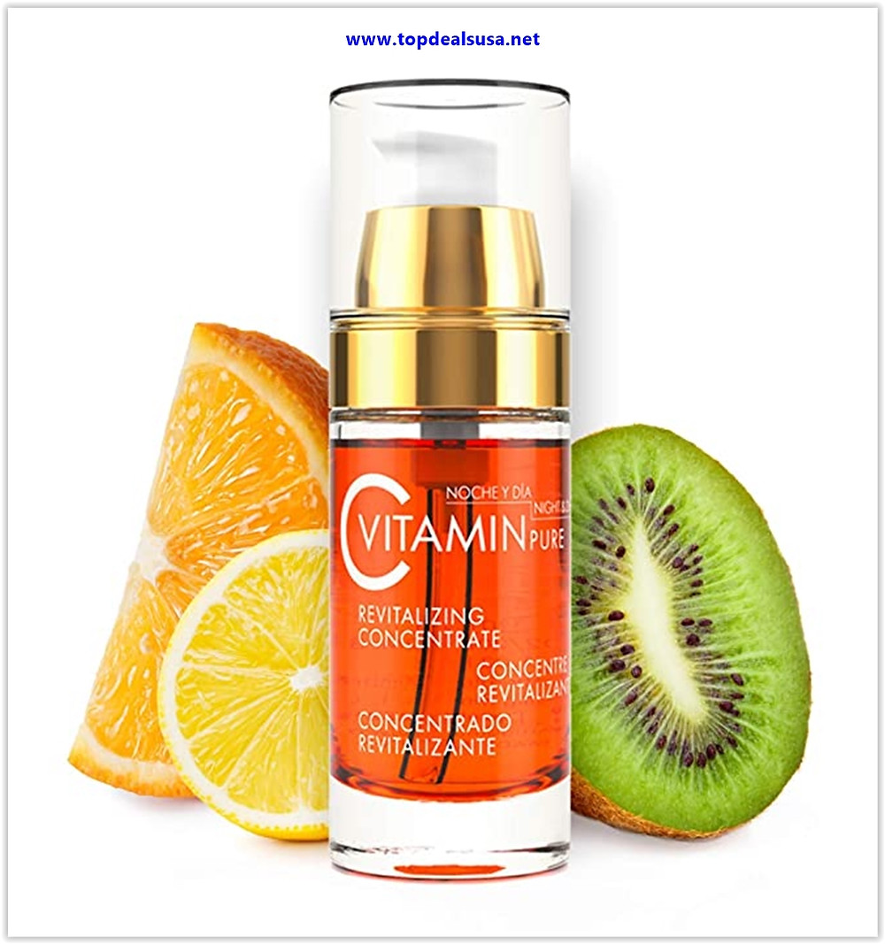 Best buy Noche Y Dia Vitamin C Serum - Daily Anti Aging Formula for Face & Skin - Brighten & Even Skin Tone