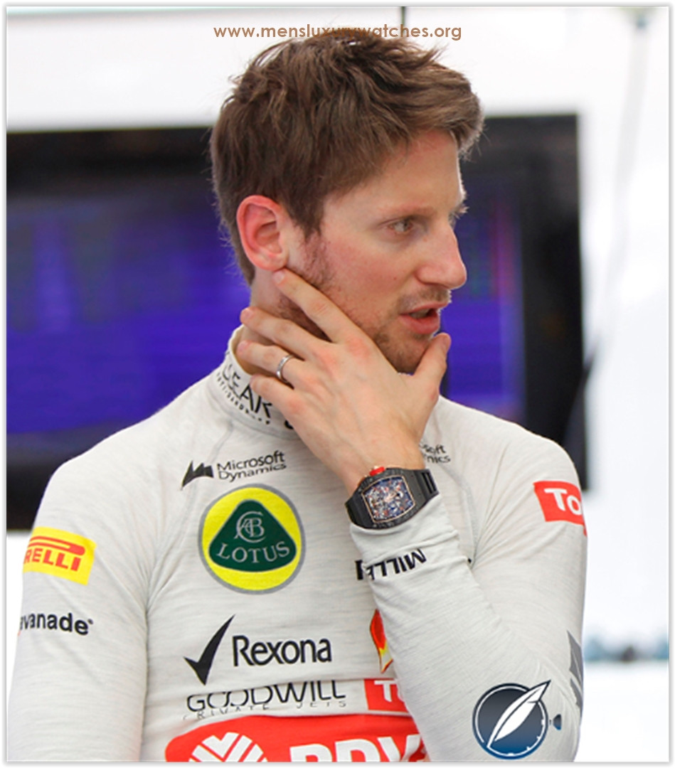 Romain Grosjean Richard Mille Watches