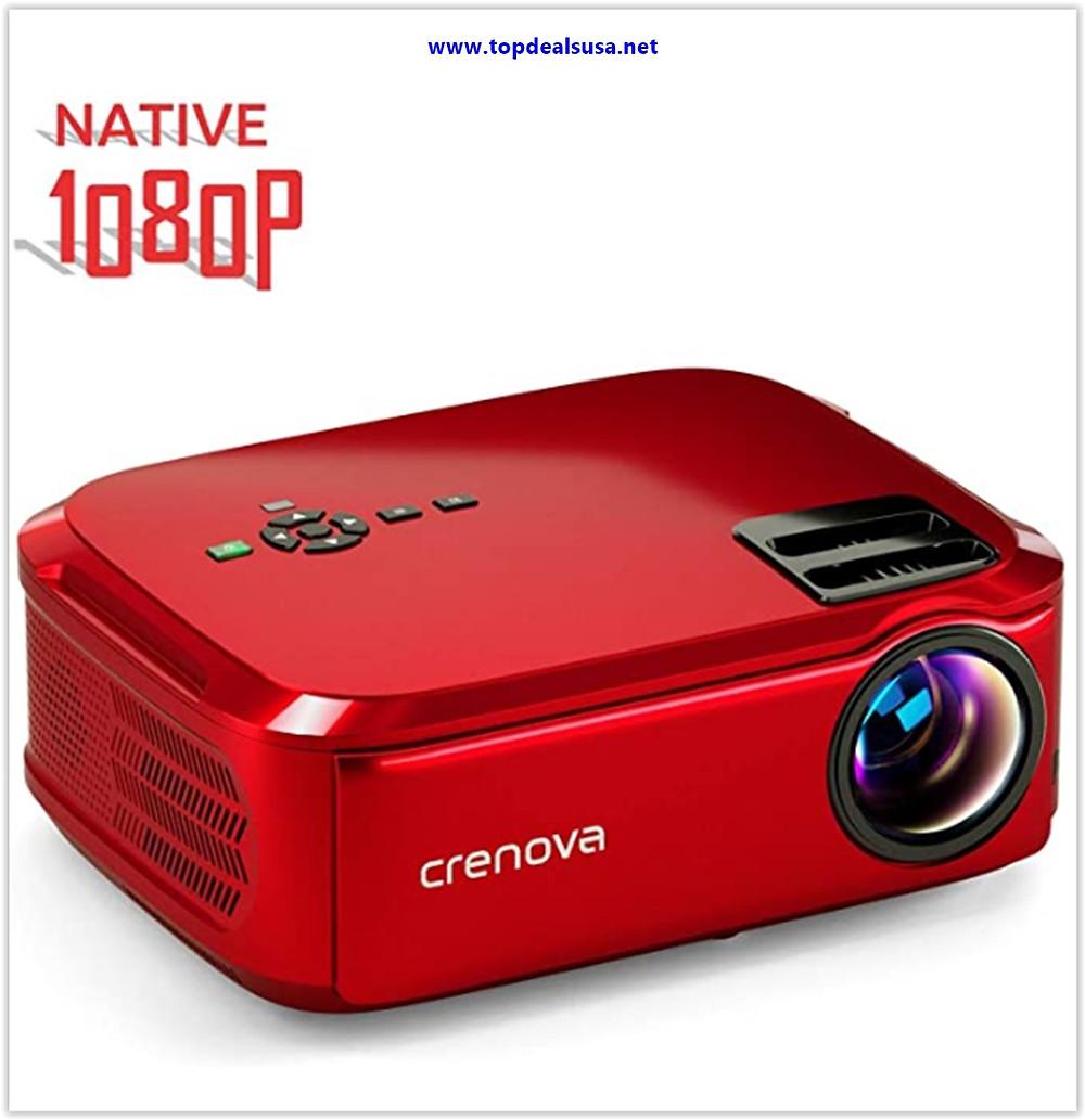 Best buy Crenova Projector Native 1080p LED Video Projector