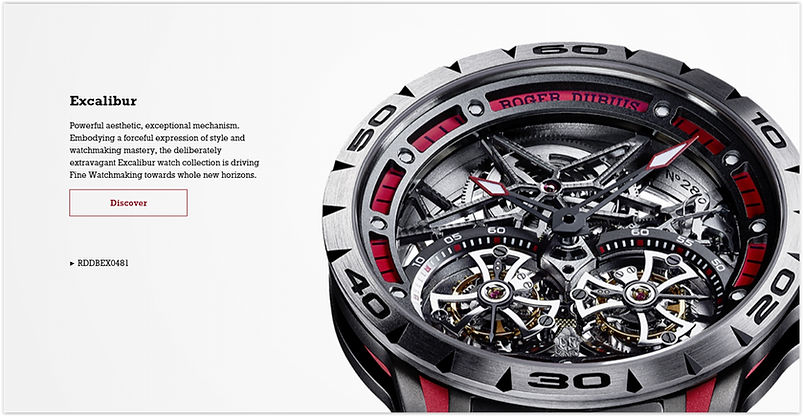 The Roger Dubuis Online Store