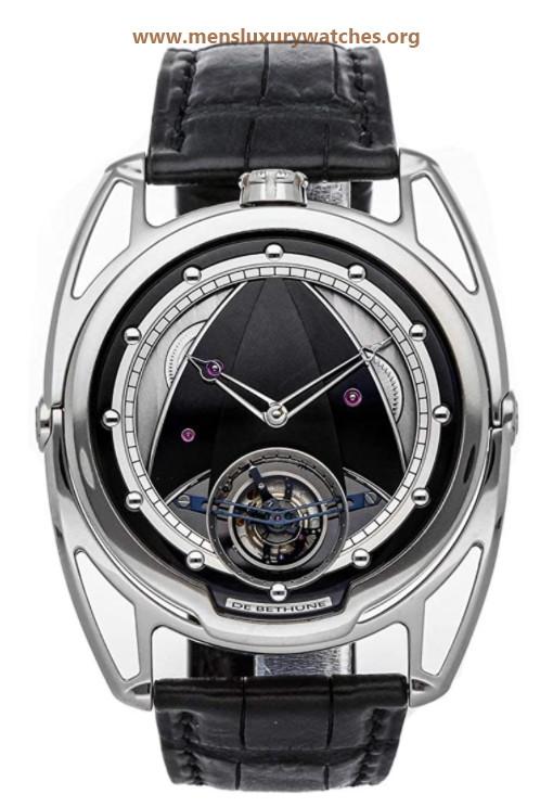 De Bethune DB28 Manual Wind Grey Dial Watch DB28TTIS8 (Pre-Owned)