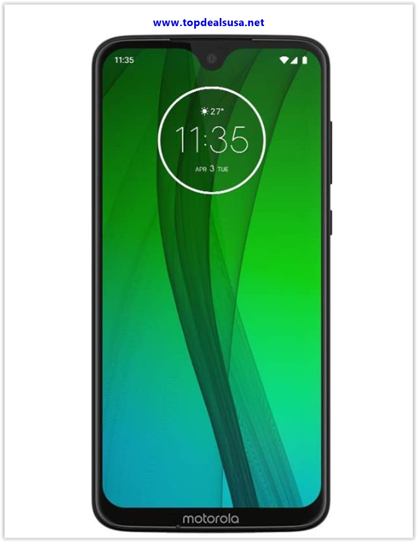 Best buy Motorola Moto G7 (64GB, 4GB RAM) Dual-SIM 6.2 4G LTE
