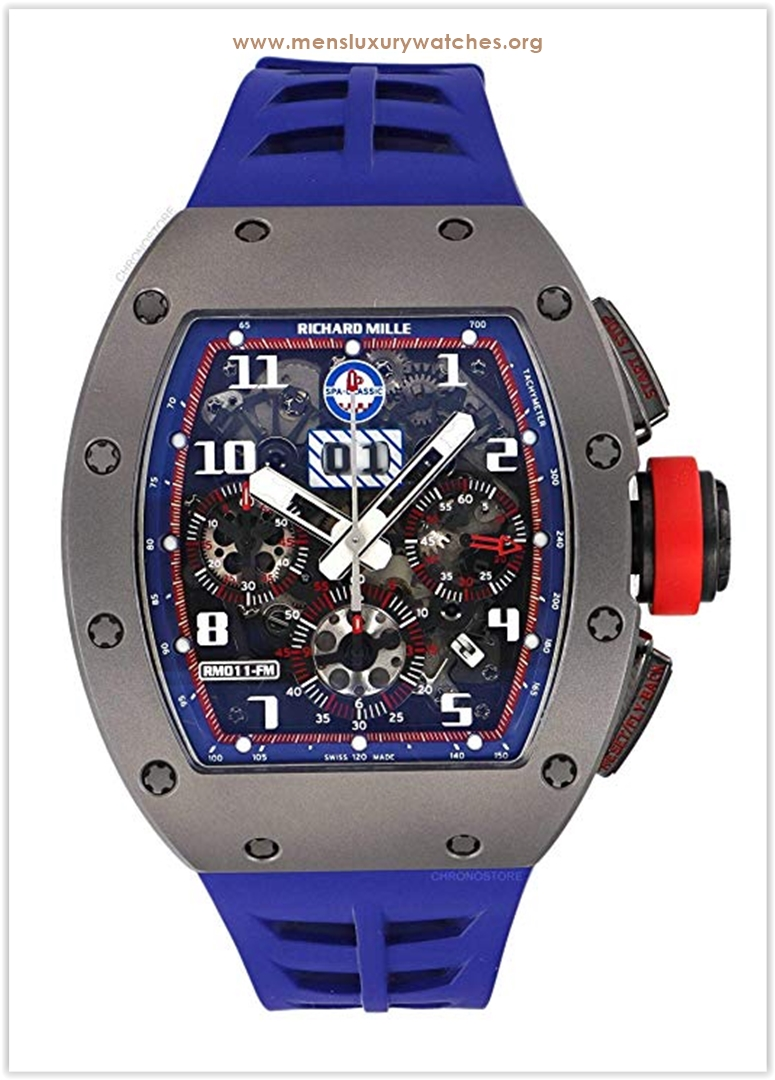 Richard Mille RM 011 Spa Limited Edition