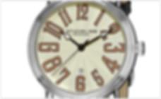 Stuhrling Original Men'sClassic Delphi Roulette Swiss Quartz Date Silver Tone Watch
