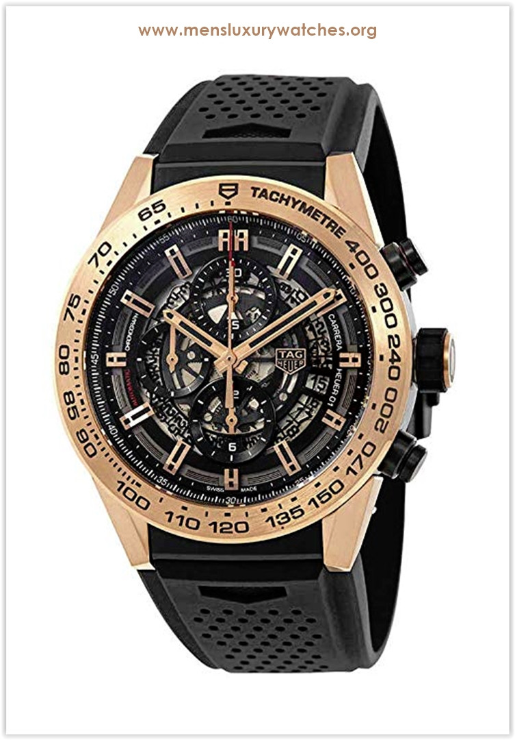 TAG Heuer Carrera Calibre Heuer 01 Rose Gold 45mm Men's Watch Price