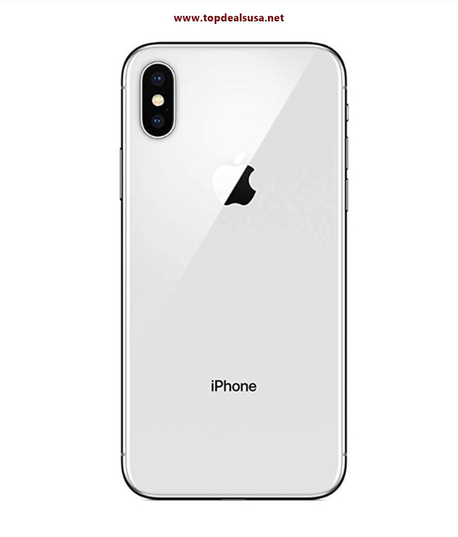 Simple Mobile Prepaid - Apple iPhone X (64GB) - Silver best buy