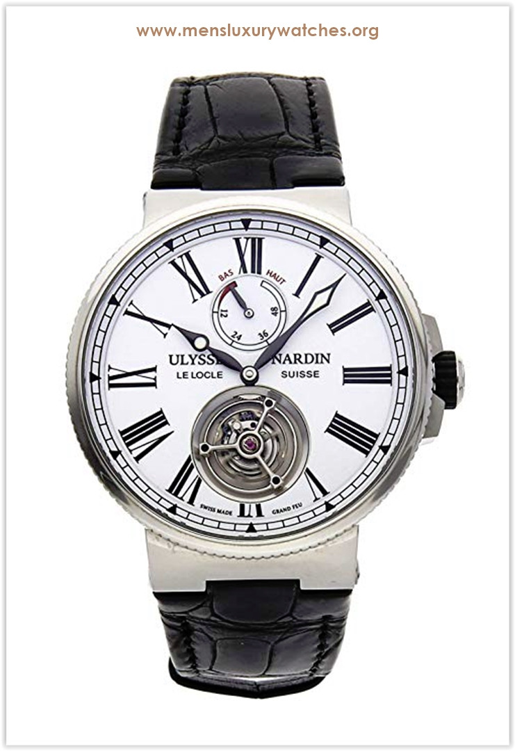 Ulysse Nardin Marine Mechanical (Automatic) White Dial Men's Watch the best price