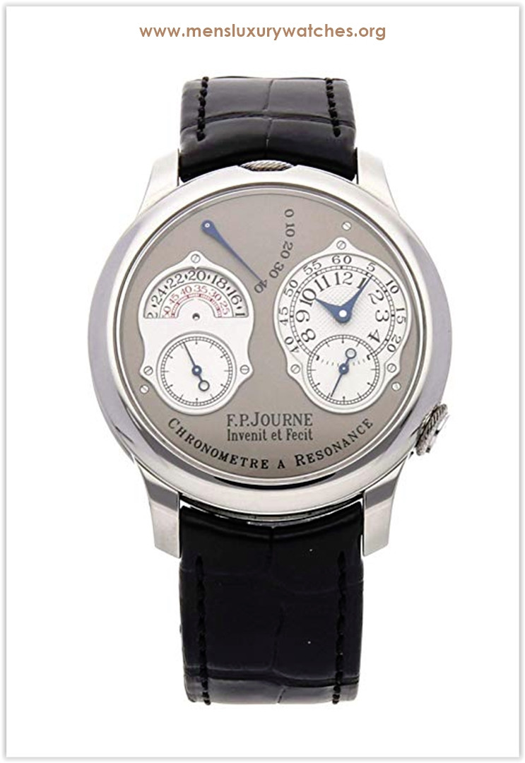 F.P. Journe Chronometre Resonance Mechanical (Hand-Winding) GreyCharcoal Dial Men's Watch Price