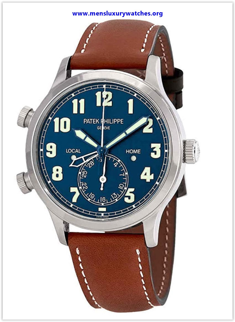 Best buy Patek Philippe Calatrava Pilot Travel Time Automatic Men's Watch 5524G-001