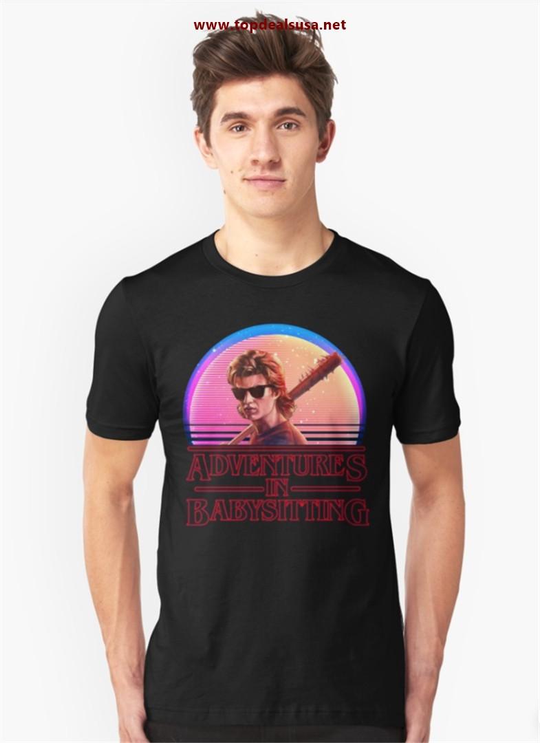 Adventures In Babysitting Slim Fit T-Shirt best buy