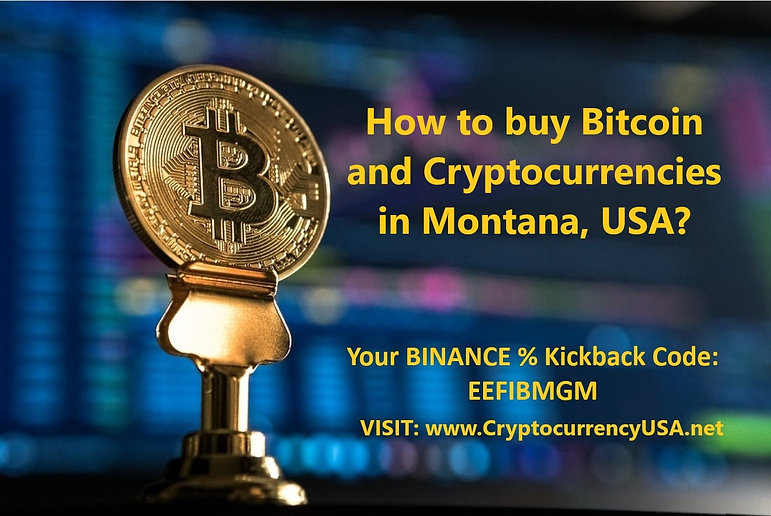 How to buy Bitcoin and Cryptocurrencies in Montana, USA?