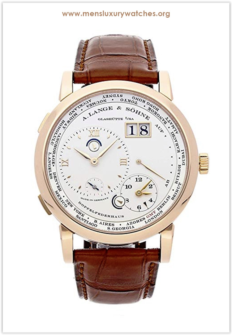 A. Lange & Sohne Lange 1 Mechanical (Hand-Winding) Silver Dial Men's Watch the best price