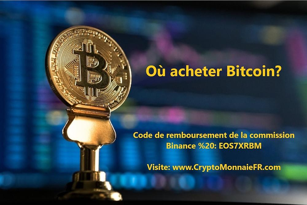 Où acheter Bitcoin?