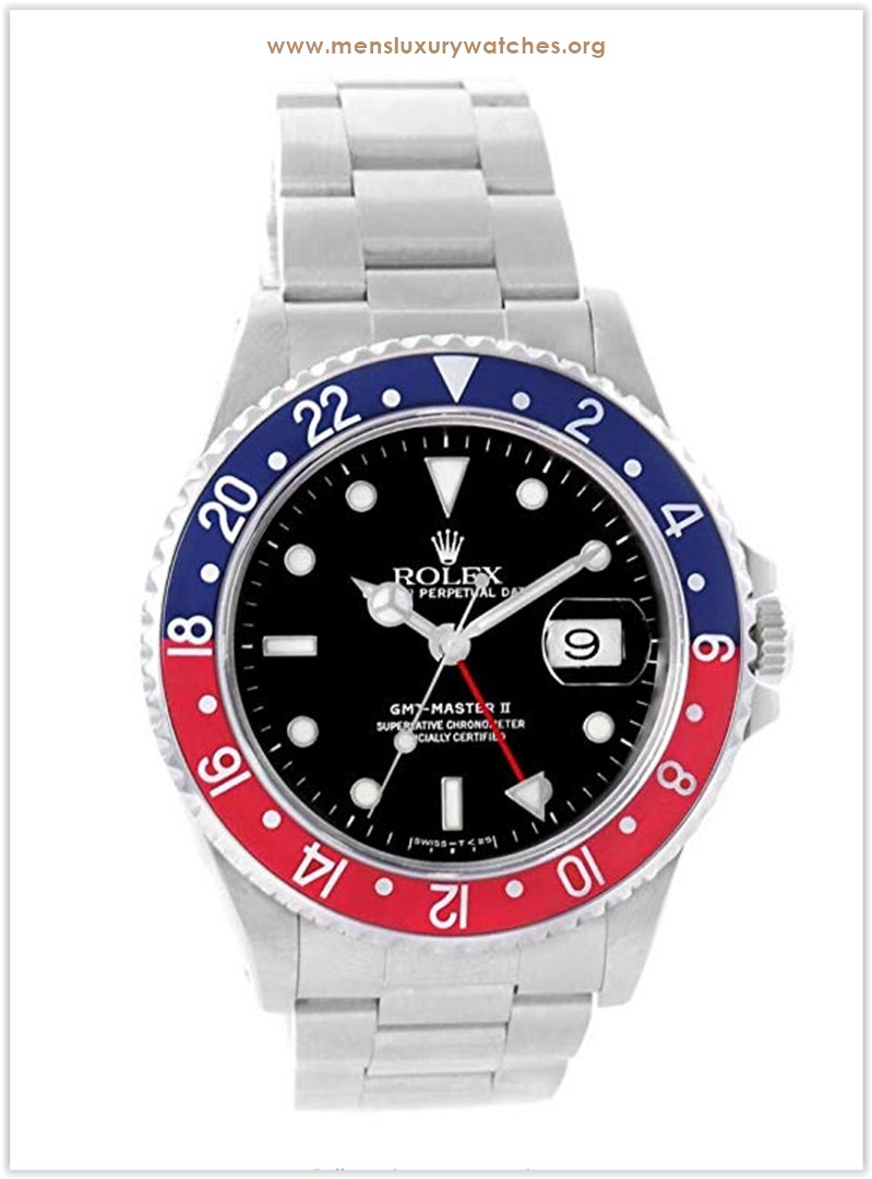 Rolex GMT Master II Automatic-self-Wind Men's Watch the best price