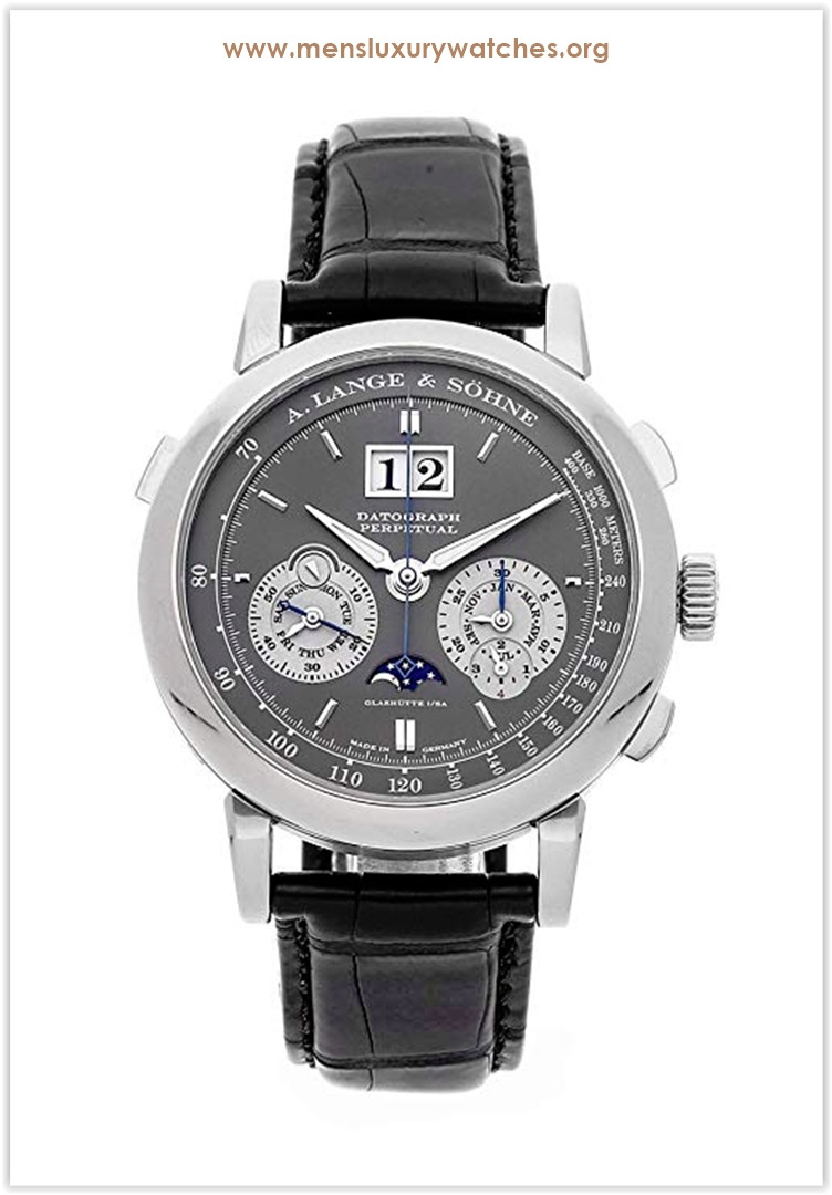 A. Lange & Sohne Saxonia Mechanical (Hand-Winding) GreyCharcoal Dial Men's Watch Price
