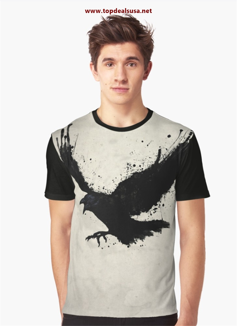 Raven Graphic T-Shirt best buy