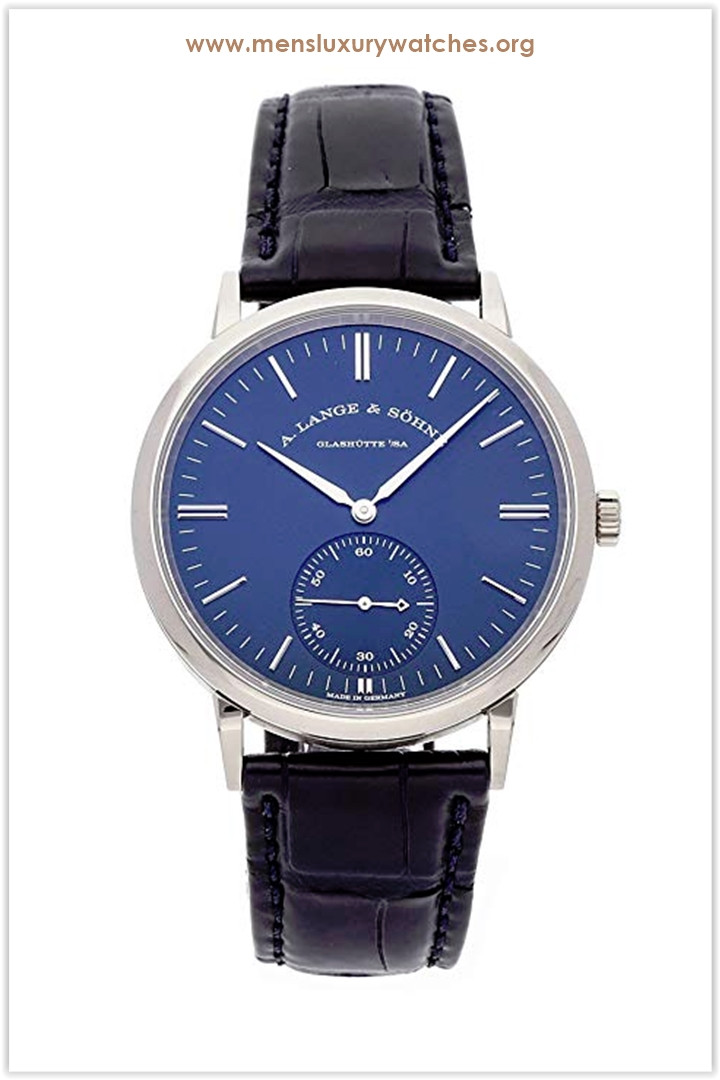 A. Lange & Sohne Saxonia Mechanical (Automatic) Blue Dial Men's Watch the best price