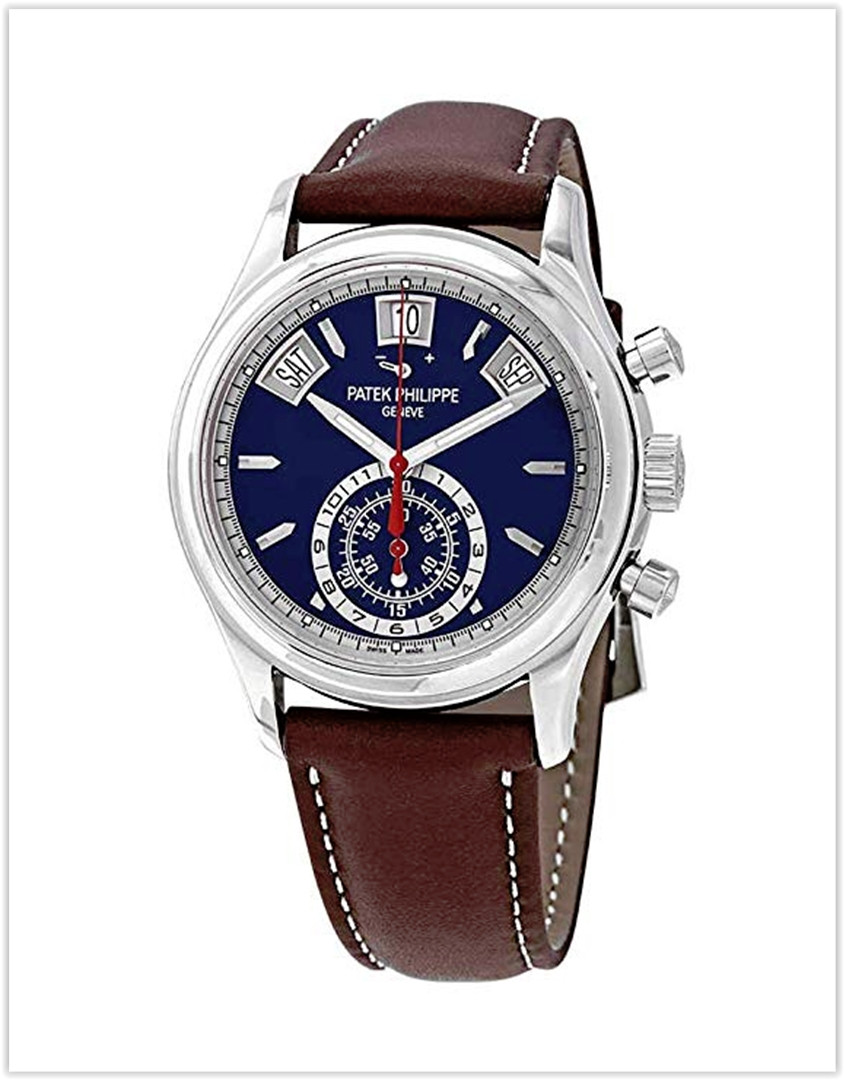 Patek Philippe Complications Mechanical (Automatic) Blue Dial Men's Watch 596001G-001 best price