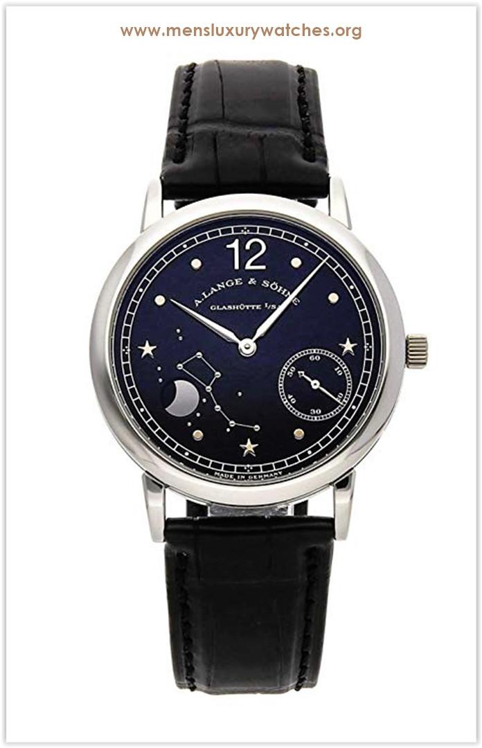 A. Lange & Sohne 1815 Mechanical (Hand-Winding) Black Dial Men's Watch Price