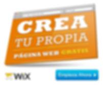 Con Wix diseñar su propio sitio web