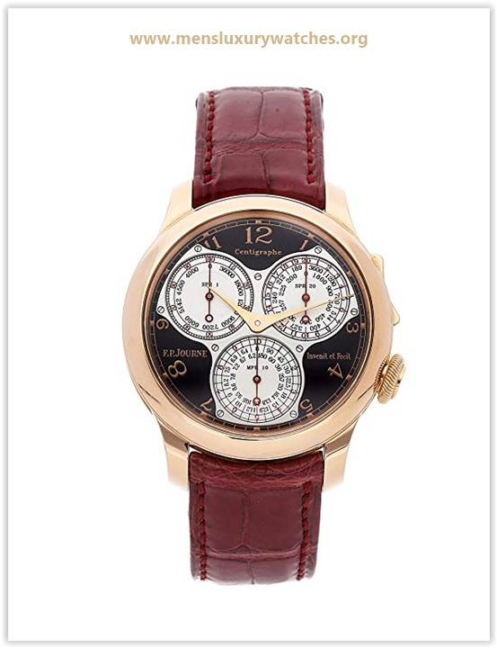 F.P. Journe Centigraphe Mechanical (Hand-Winding) Black Dial Men's Watch Cent SOUS BTQ Price May 2019