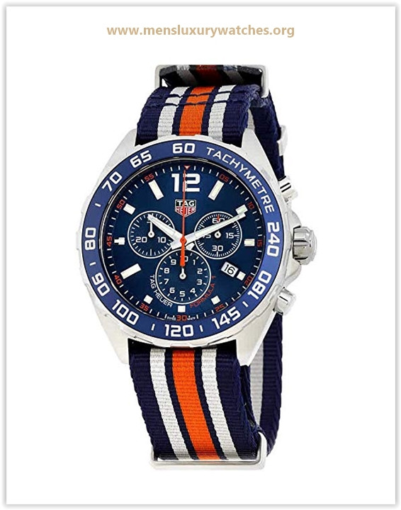 Tag Heuer Formula 1 Blue Chronograph Men's Watch Price May 2019