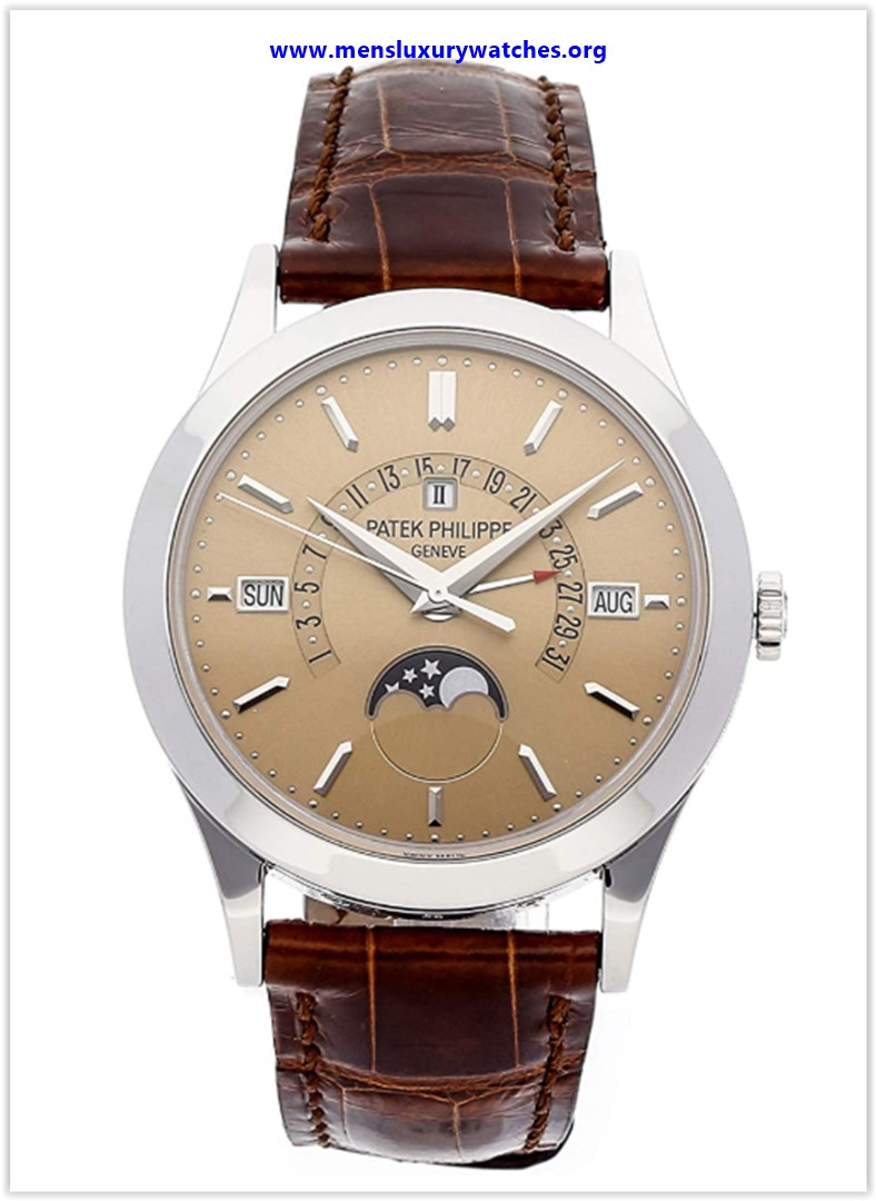 Best buy Patek Philippe Grand Complications Platinum Automatic Perpetual Calendar Men's Watch 5496P-014