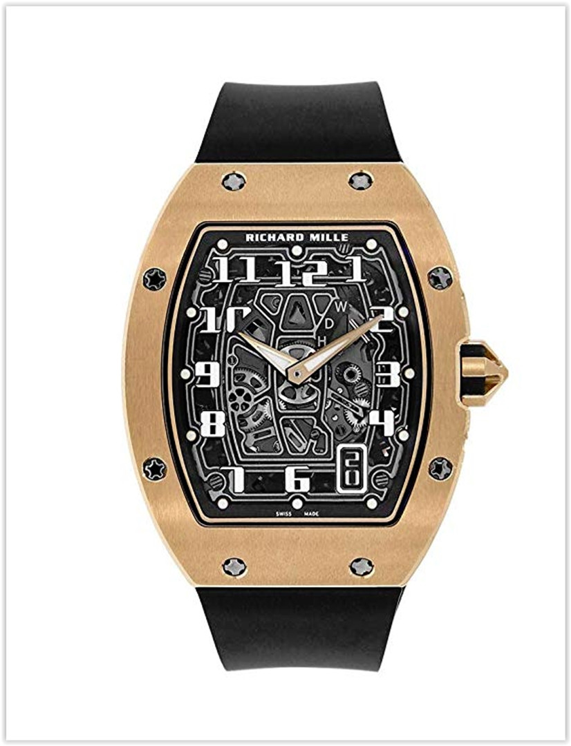 Richard Mille RM 67-01 Extra Flat Rose Gold Skeleton Men's Watch Price