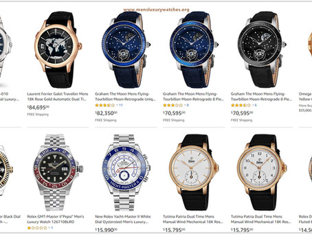 Top 10 Luxury Men's Watches to buy 2020