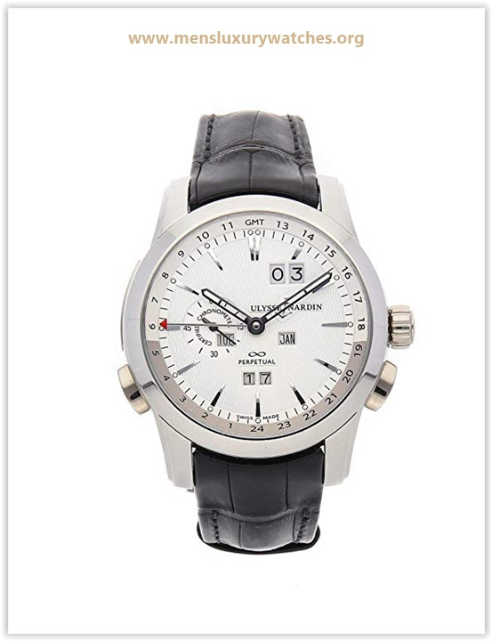 Ulysse Nardin Perpetual Manufacture Mechanical (Automatic) Silver Dial Men's Watch Price May 2019