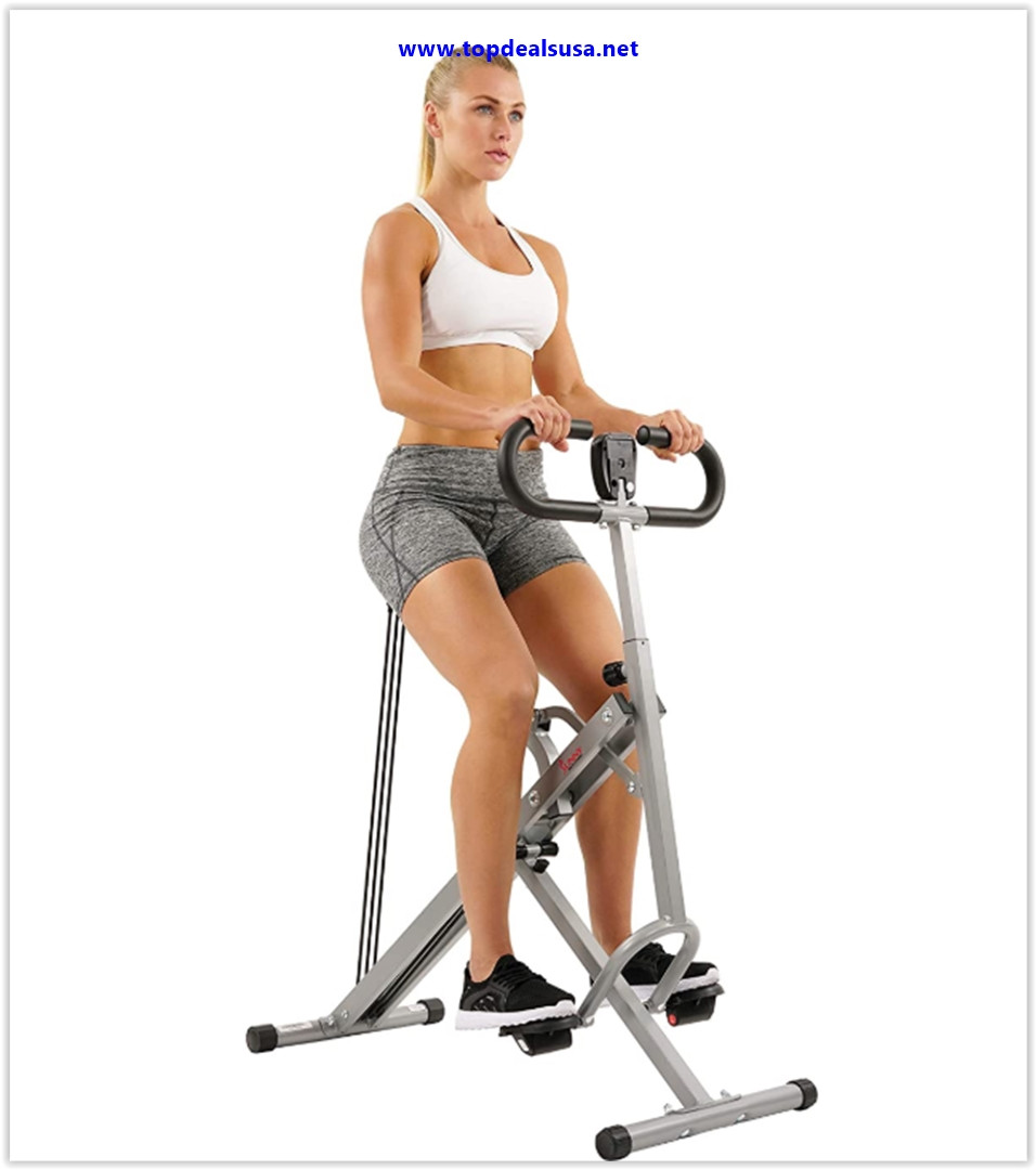 Best buy Sunny Health & Fitness Squat Assist Row-N-Ride Trainer for Squat Exercise and Glutes Workout