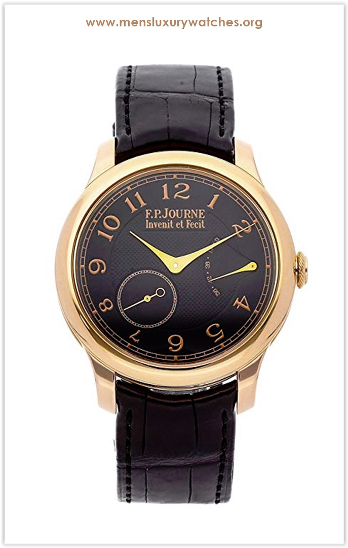 F.P. Journe Souverain Mechanical (Hand-Winding) Black Dial Men's Watch Chronometre Souverain The Best Price