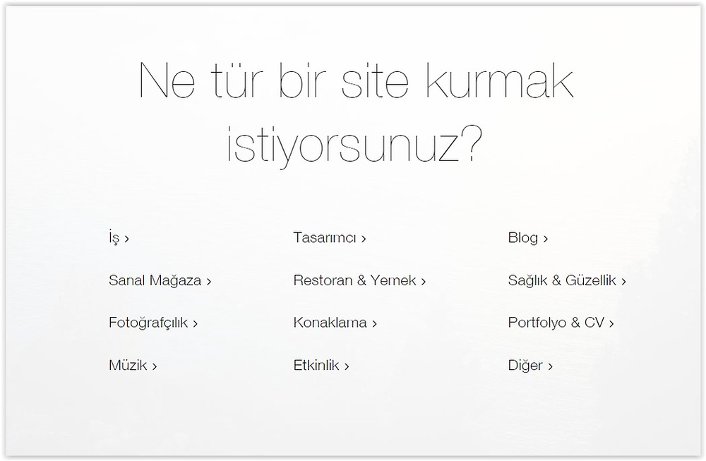 hazır web sitesi şablonu nasıl kullanılır
