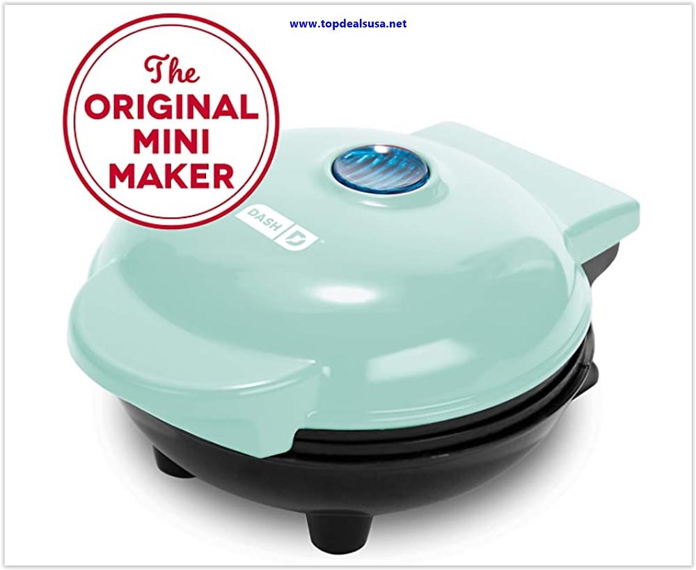 Best buy Dash Mini Maker The Mini Waffle Maker Machine for Individual Waffles, Paninis