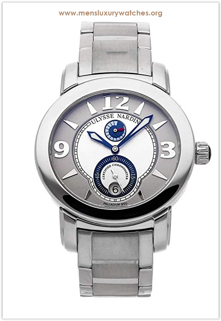 Ulysse Nardin Macho Palladium Mechanical (Automatic) Silver Dial Men's Watch the best price