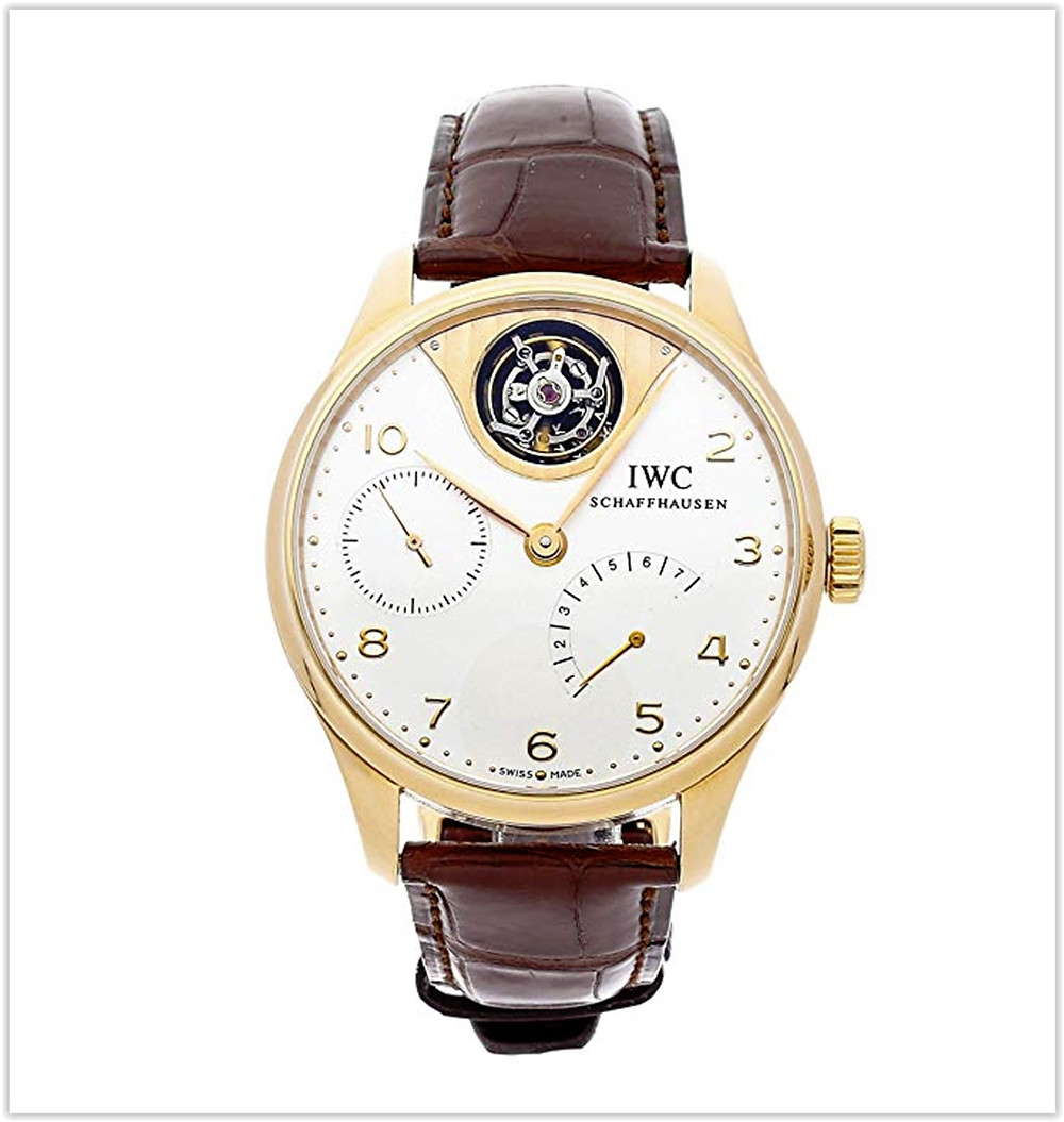 IWC Portuguese Mechanical (Automatic) Silver Dial Mens Watch IW5042-02 best price