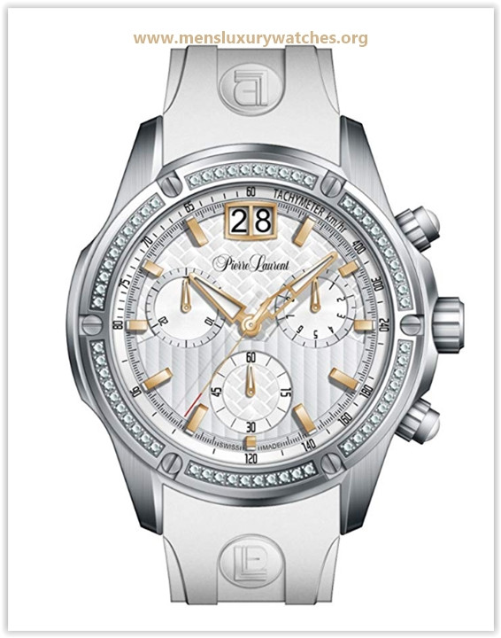 Pierre Laurent Swiss Made Men's Performance Chronograph Watch Price May 2019