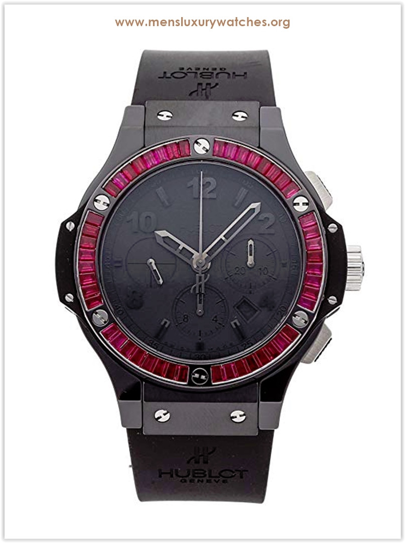 Hublot Big Bang Mechanical Red Black Dial Men's Watch Price