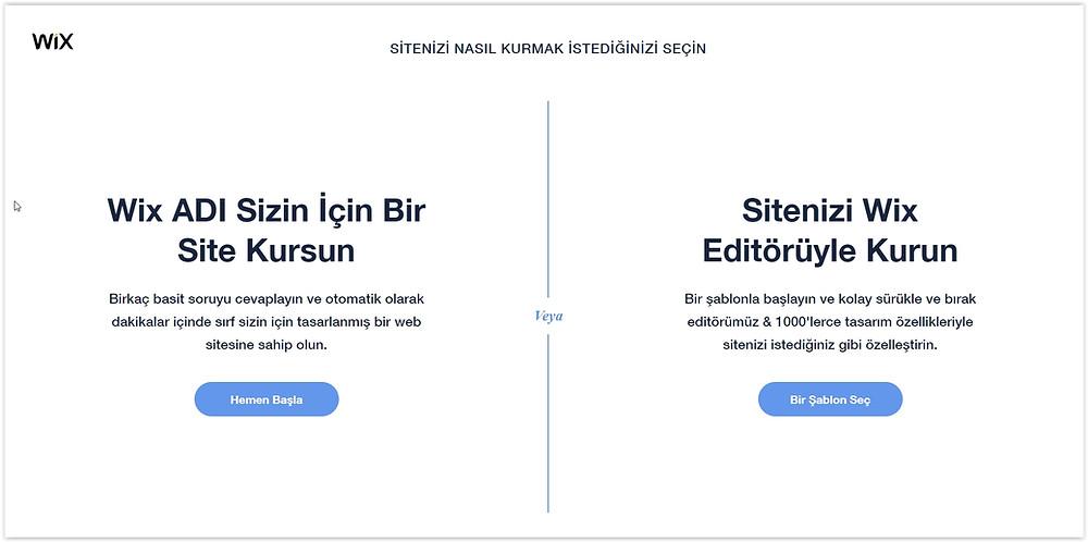 Wix editör ile danışmanlık & rehberlik için hazır web sitesi nasıl yapılır