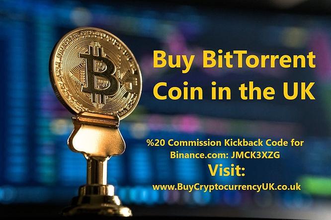 Buy BitTorrent Coin in the UK
