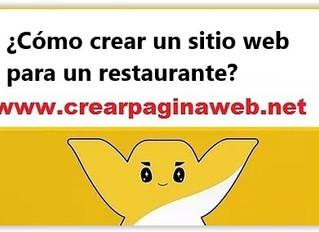 ¿Cómo crear un sitio web para un restaurante?
