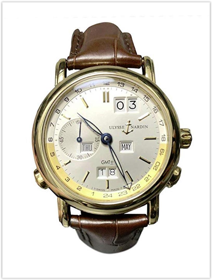 Ulysse Nardin GMT Perpetual 39MM 18KT Gold Men's Watch Price