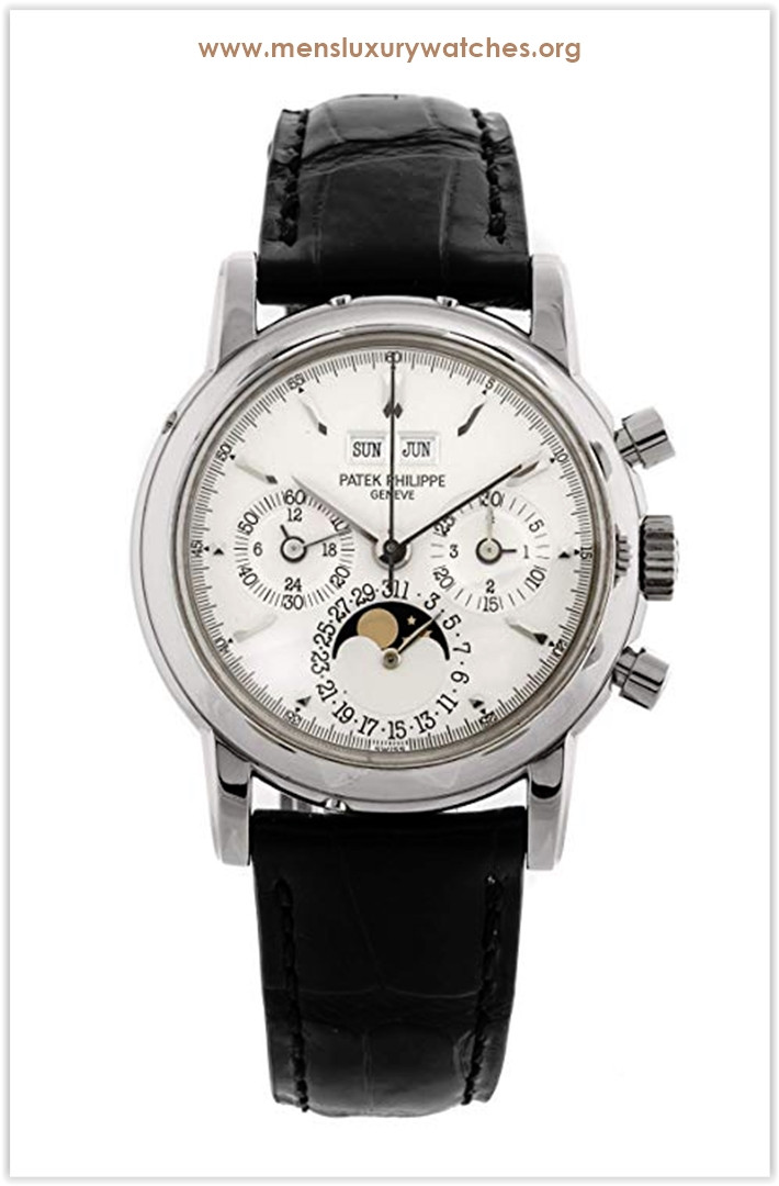 Patek Philippe Grand Complications Mechanical (Hand-Winding) Silver Dial Men's Watch 3970G the best price