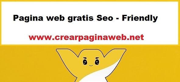 Pagina web gratis Seo - Friendly