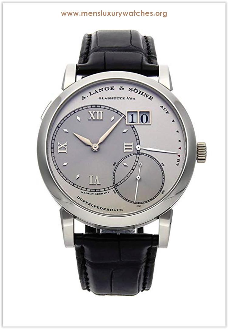 A. Lange & Sohne Lange 1 Mechanical  Silver Dial Men's Watch Price