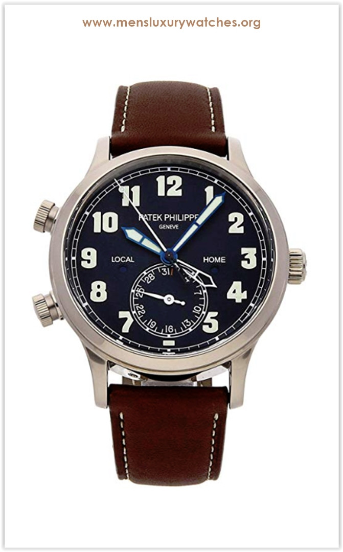 Patek Philippe Calatrava Mechanical (Automatic) Blue Dial Men's Watch 5524G-001 the best price